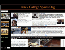 Tablet Preview of blackcollegesports.org
